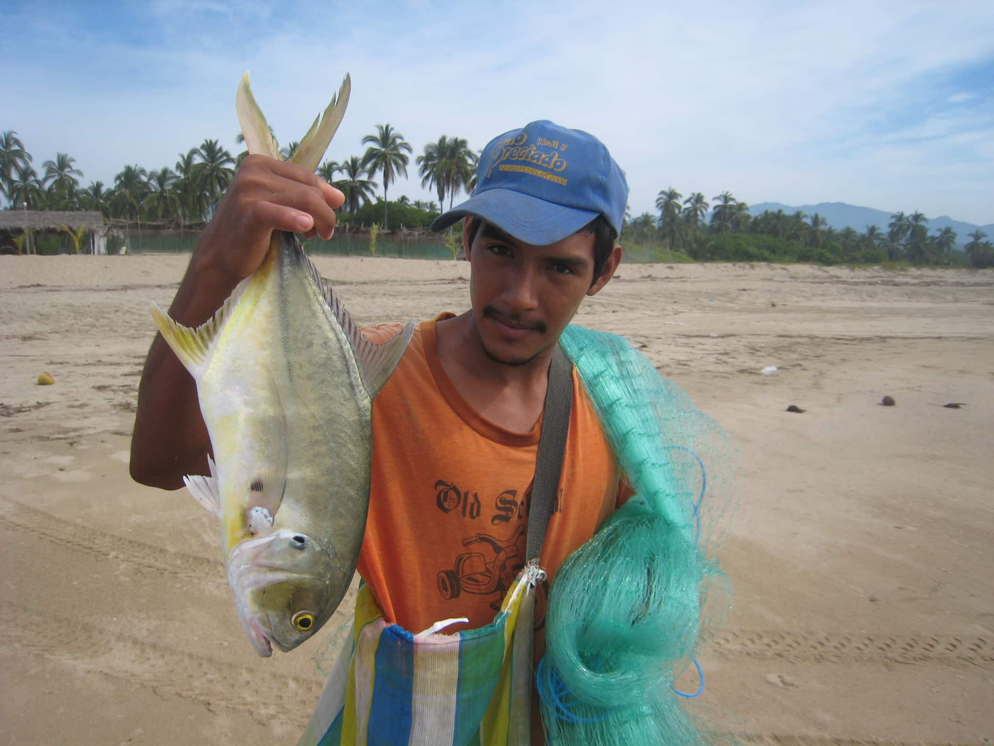 Fresh Catch off the Beach at PlayaViva