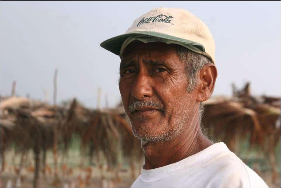One of the volunteers at La Tortuga Feliz, Turtle Sanctuary